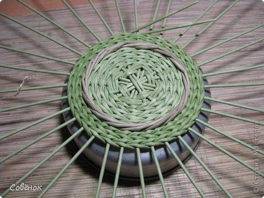 Мастер-класс Плетение МК - Шкатулка из бумаги Бумага газетная Трубочки бумажные фото 22