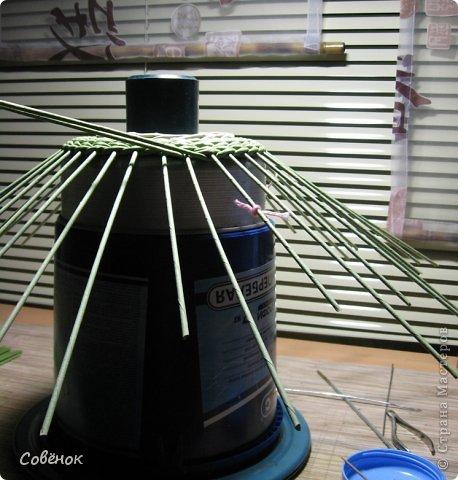 Мастер-класс Плетение МК - Шкатулка из бумаги Бумага газетная Трубочки бумажные фото 25