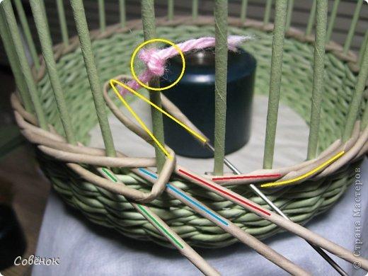 Мастер-класс Плетение МК - Шкатулка из бумаги Бумага газетная Трубочки бумажные фото 32
