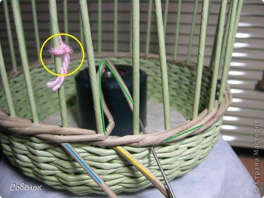 Мастер-класс Плетение МК - Шкатулка из бумаги Бумага газетная Трубочки бумажные фото 34