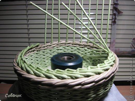 Мастер-класс Плетение МК - Шкатулка из бумаги Бумага газетная Трубочки бумажные фото 41