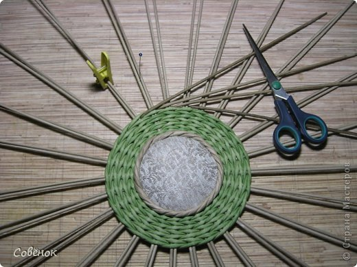 Мастер-класс Плетение МК - Шкатулка из бумаги Бумага газетная Трубочки бумажные фото 54