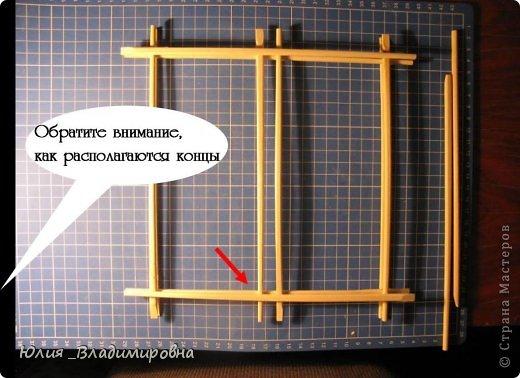 Выполняю обещанное... http://stranamasterov.ru/node/472305 АААА!!! Обежала сегодня несколько магазинов… палочки для суши как-то внезапно все раскуплены(((… поэтому мастер- класс слепила из того, что было.... Очень надеюсь, что всем все будет понятно….. фото 6