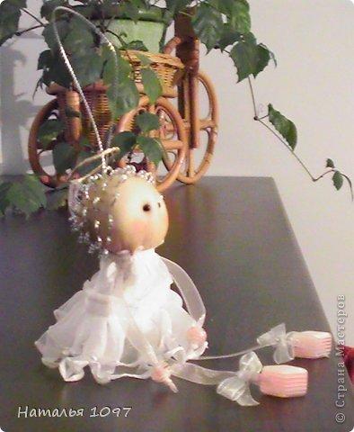 Ангелок был сделан ко Дню Ангела. Но вполне может подойти к Новому Году. фото 3