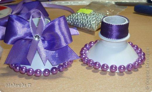 Подсвечники для свадебных свечей своими руками