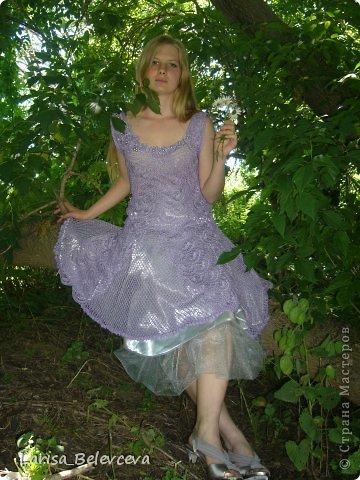 Вязание крючком - Платье для