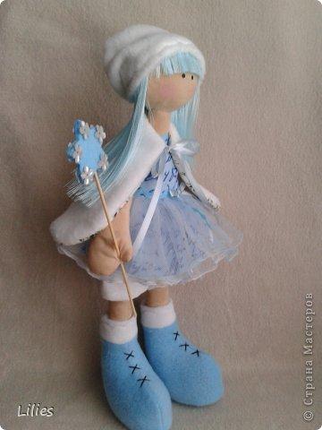 Моя первая сНежка (девочка с большими ногами) Снежная фея фото 2