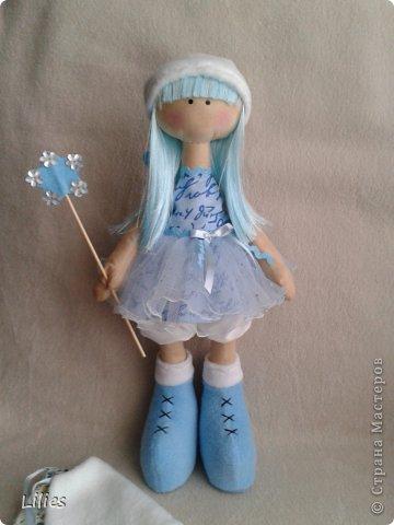 Моя первая сНежка (девочка с большими ногами) Снежная фея фото 4