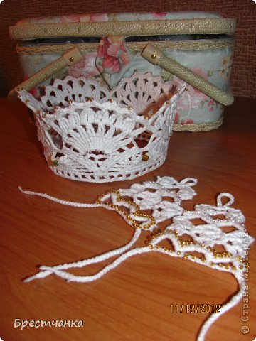Вязание крючком корона для