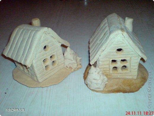 Как сделать домик из соленого теста своими