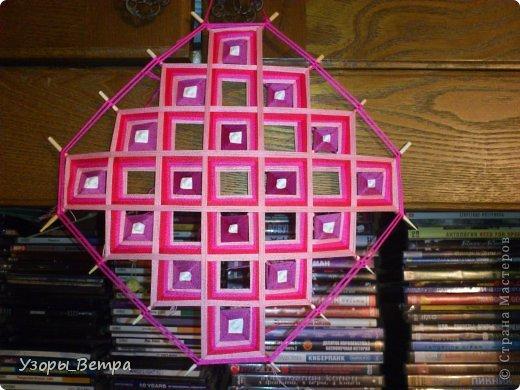 Мастер-класс Оберег Плетение Мандала в стиле тибетское плетение  Дерево Нитки фото 1