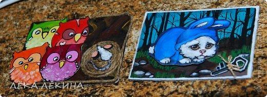 Еще одна открыточка Сашика на НГ))) делал ну почти сам...немного помогала. фото 5