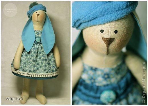МК крошка Люси (Тильда-заяц) фото 22