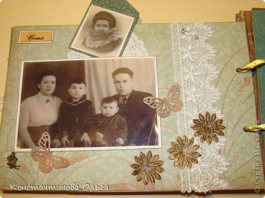 Этот альбом был сделан для моей мамы на её юбилей. Коробочка для хранения. фото 5