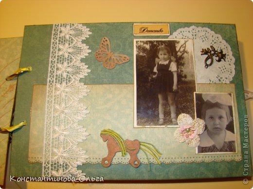 Этот альбом был сделан для моей мамы на её юбилей. Коробочка для хранения. фото 6