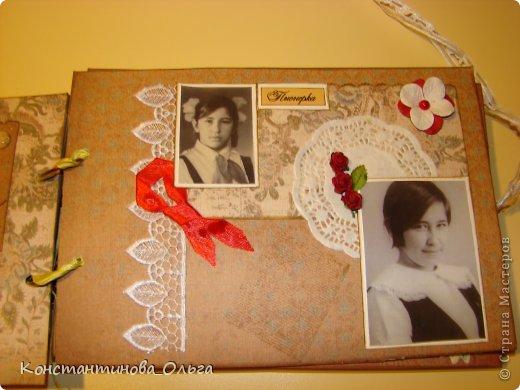 Этот альбом был сделан для моей мамы на её юбилей. Коробочка для хранения. фото 8
