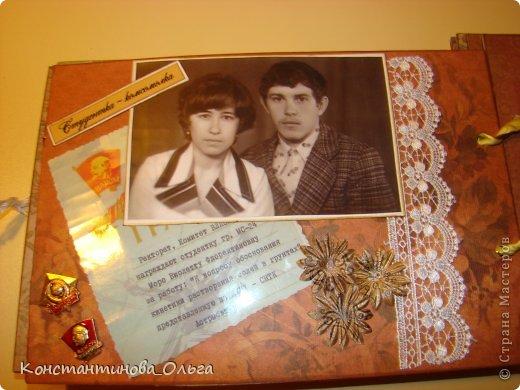 Этот альбом был сделан для моей мамы на её юбилей. Коробочка для хранения. фото 9