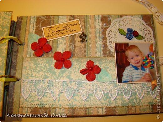 Этот альбом был сделан для моей мамы на её юбилей. Коробочка для хранения. фото 14