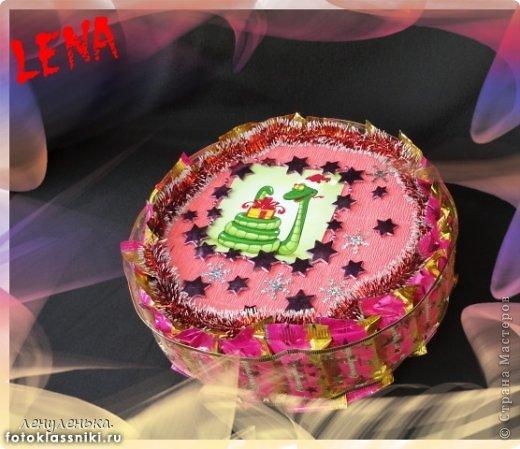 новогодние букеты из конфет фото 3