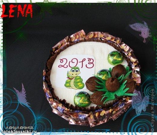 новогодние букеты из конфет фото 2