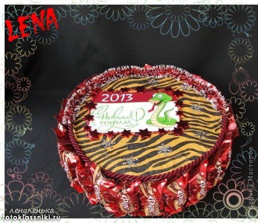новогодние букеты из конфет фото 6