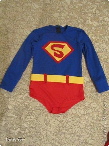 Костюм супермен своими руками фото