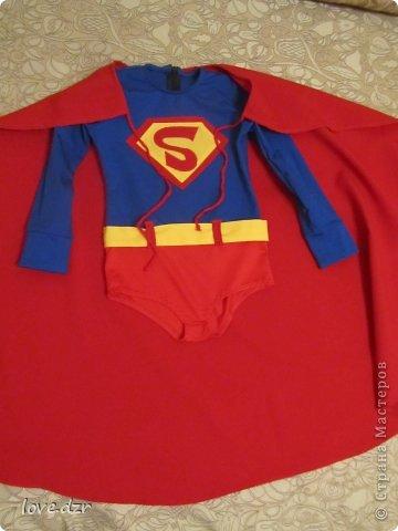 Супермен костюм своими руками