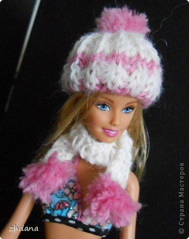 Как сделать шапку для куклы барби