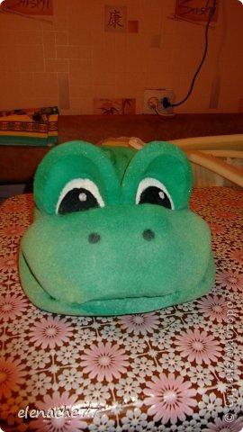 Как сделать шапку лягушки на голову своими руками из картона