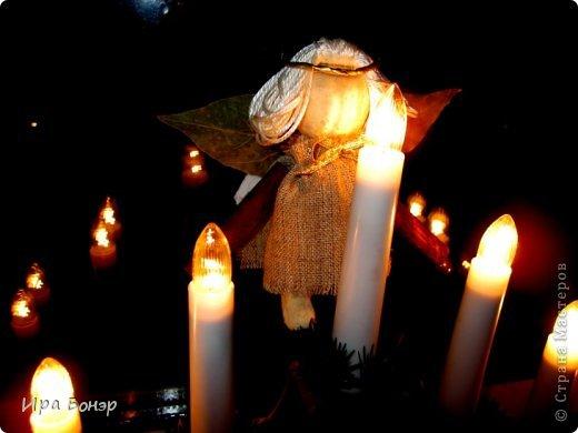 Ангел из пряностей и солёного теста фото 1