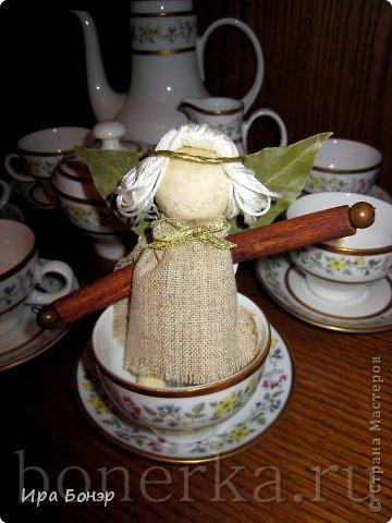 Ангел из пряностей и солёного теста фото 2