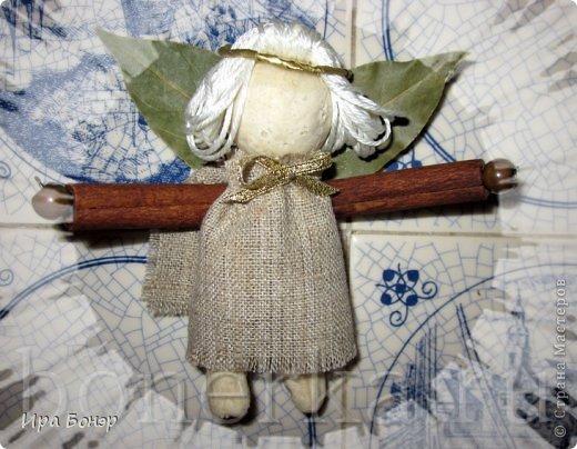 Ангел из пряностей и солёного теста фото 3