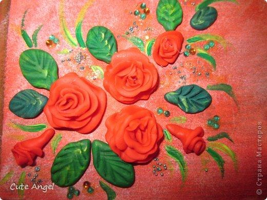 Шкатулка с розами фото 2