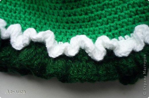 Мастер-класс Поделка изделие Вязание крючком Вязаная грелка на чайник Петушок Пряжа фото 11