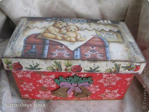 Коробочка с игрушками. фото 1