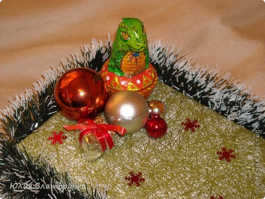 вот такой букет конфет)))получился,пыталась выполнить его в зимней теме)) фото 5