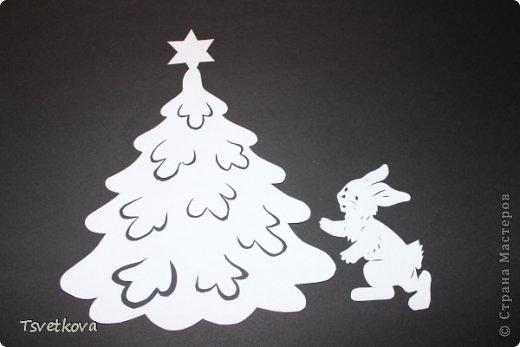 Картина панно рисунок Поделка изделие Новый год Рождество Вырезание Мои Вырезания Новогодние Бумага фото 6.