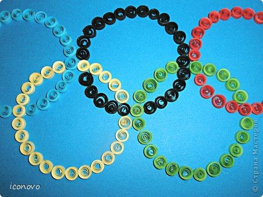 Символы к олимпиаде своими руками
