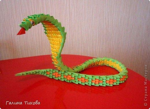 Змейка. Мастер-класс. фото 3