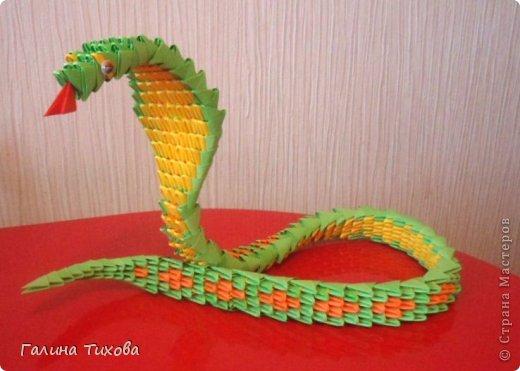 Змейка. Мастер-класс. фото 1