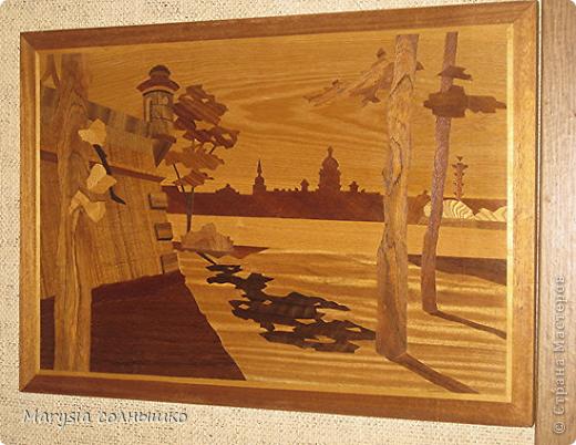 Картины из шпона своими руками