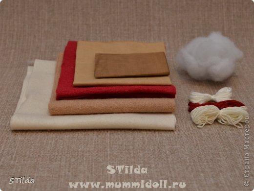 """Мастер-класс по изготовлению куклы тильды - Санта Клауса """"Заграничный Дед Мороз нам подарочки принес...""""  фото 2"""