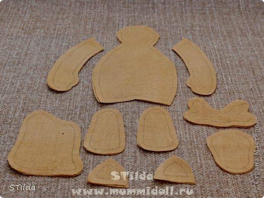 """Мастер-класс по изготовлению куклы тильды - Санта Клауса """"Заграничный Дед Мороз нам подарочки принес...""""  фото 5"""