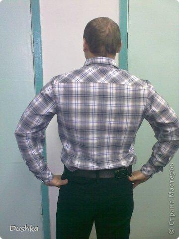 Мужская рубашка фото 3