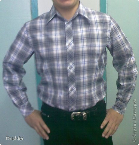 Мужская рубашка фото 1