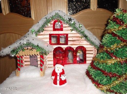 Поделка сказочный домик новый год