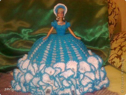 Платье для куклы Барби.  фото 15