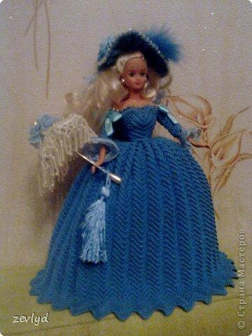 Платье для куклы Барби.  фото 13