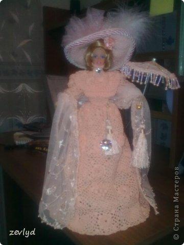 Платье для куклы Барби.  фото 12