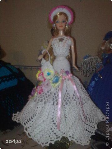 Платье для куклы Барби.  фото 10